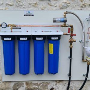 """système de filtration 20"""" Big Blue avec Déli-vital et Voda"""